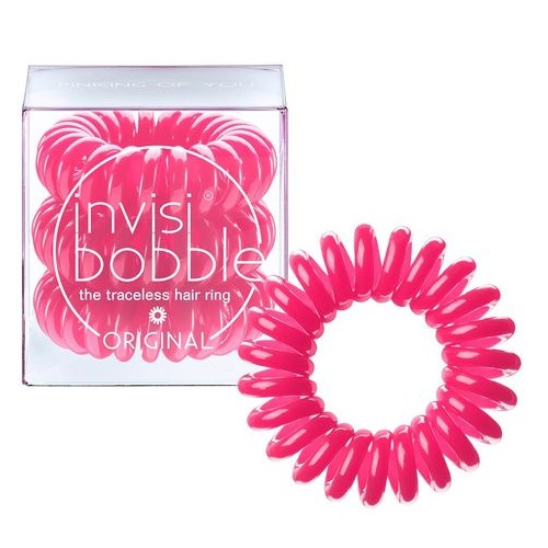 Розовая резинка для волос Invisibobble Original Pinking Of You invisibobble резинка для волос розового цвета original pinking of you 3 шт резинка для волос розового цвета original pinking of you 3 шт 3 шт уп