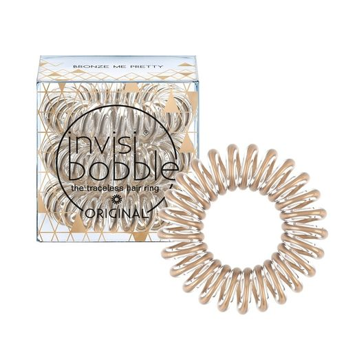 Резинка для волос, не вырывающая волосы Invisibobble Time To Shine Bronze Me Pretty time to socialise