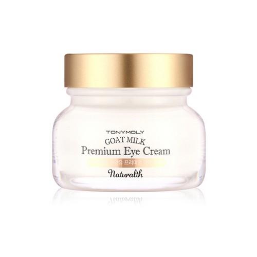 Крем для глаз с козьим молоком Tony Moly Naturalth Goat Milk Premium Eye Cream