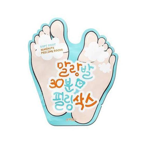 Носочки пилинг для ног APieu Soft Foot 30 Minute Peeling Socks