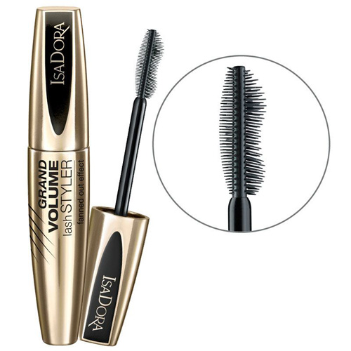 Тушь для ресниц с эффектом суперобъема IsaDora Grand Volume Lash Styler top quality 30 pairs 3d faux mink strip lash russian volume false fake eyelash extensions