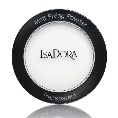 Прозрачная пудра для фиксации макияжа IsaDora Matt Fixing Powder корректоры isadora многофункциональное средство для макияжа лица face sculptor 10 18гр