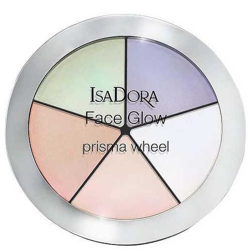 Палетка хайлайтеров для профессионального макияжа IsaDora IsaDora Face Glow корректоры isadora многофункциональное средство для макияжа лица face sculptor 10 18гр