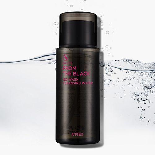 Очищающая вода для лица APieu From The Black No Wash Cleansing Water