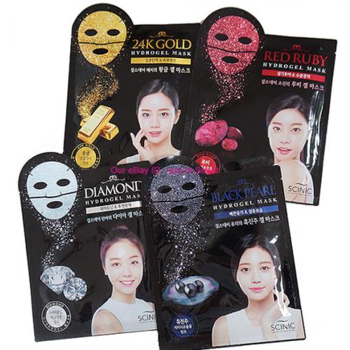 Гидрогелевая маска для лица Scinic