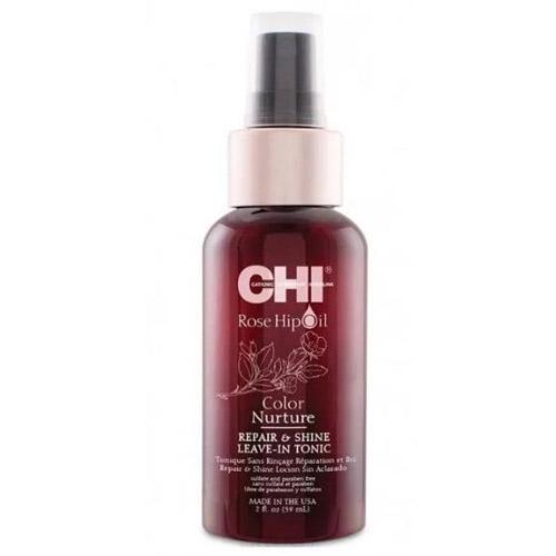 Тоник для защиты цвета окрашенных волос с маслом дикой розы CHI Rose Hip Oil Color Nurture Repair And Shine Leave-Iin Tonic 59 ml трусы armani трусы в стиле шортики