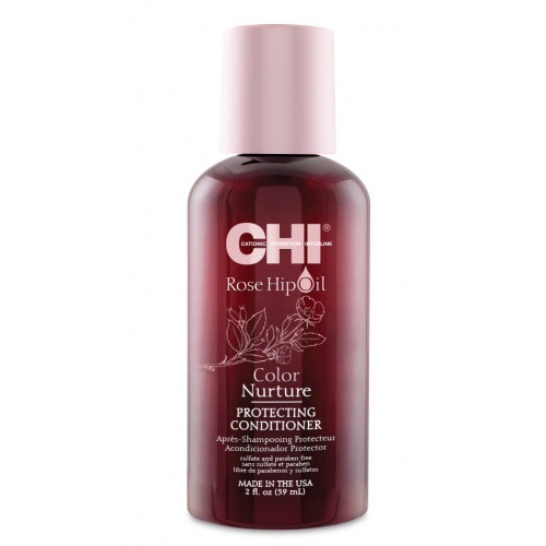 Шампунь для окрашенных волос с маслом дикой розы CHI Rose Hip Oil Color Nurture Protecting Shampoo 59 ml cosmetics 50g 100g ml bottle vanilla essential oil base oil organic cold pressed skin care oil free shipping