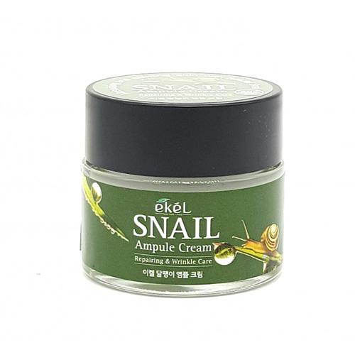 Ekel Snail Ampule Cream mizon snail repair eye cream 25ml snail essence serum eye cream anti wrinkle moisturizing best korea cosmetics
