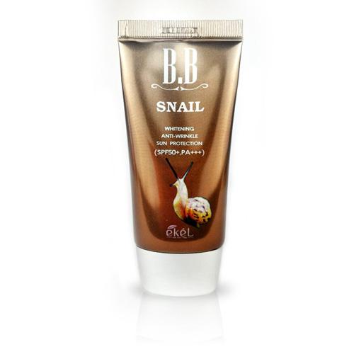 ВВ крем с экстрактом муцина улитки BB Snail Cream SPF50