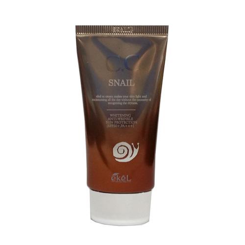 СС крем с экстрактом муцина улитки CC Snail Cream SPF50 mizon snail repair eye cream 25ml snail essence serum eye cream anti wrinkle moisturizing best korea cosmetics