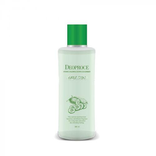 Успокаивающая эмульсия для лица  огурцом Deoproce Hydro Calming Down Cucumber Emulsion
