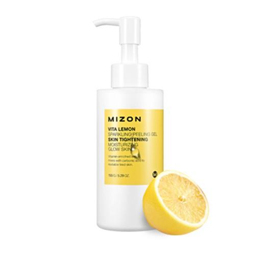 витаминный пилинг-скатка Mizon Vita Lemon Sparkling Peeling Gel the yeon lotus roots 365 silky skin bubble peeling gel пилинг гель с экстрактом лотоса 100 мл