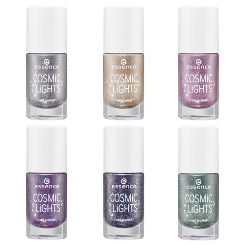 Лаки для ногтей с голографическими глиттерными частицами Essence Cosmic Lights Nail Polish mix sizes 1000pcs pack crystal clear ab non hotfix flatback rhinestones nail rhinestoens for nails 3d nail art decoration gems