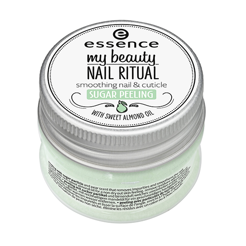 Восстанавливающий пилинг для ногтей и кутикул Essence My Beauty Nail Ritual Sugar Peeling the ritual