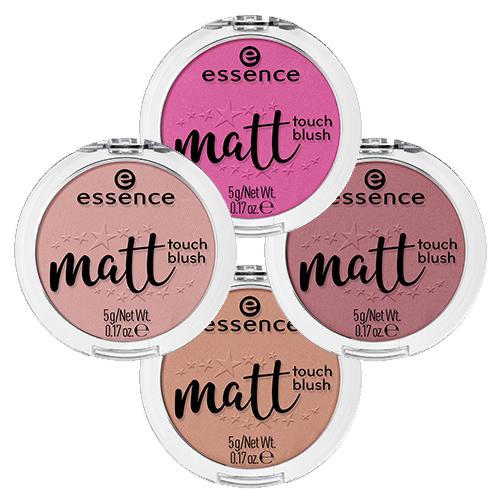 Матовые румяна с лёгкой текстурой Essence Matt Touch Blush essence soft touch matt mousse мусс тонирующий тон 03