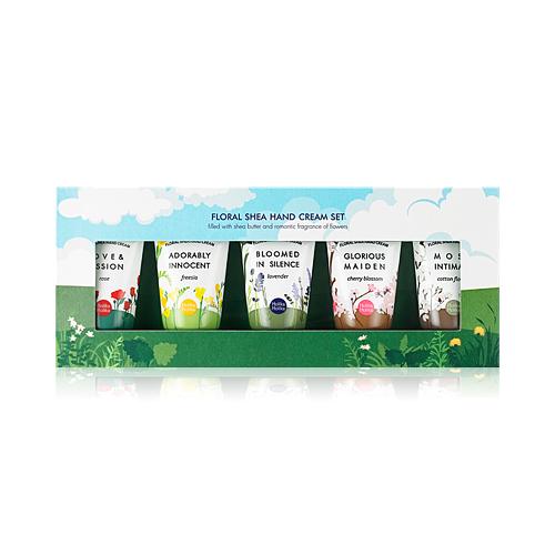 Набор цветочных кремов для рук Holika Holika Floral Shea Hand Cream Set