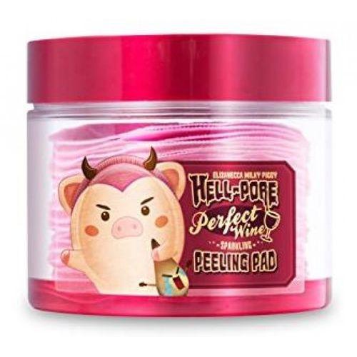 Винные пилинг-пэды Elizavecca Hell Pore Perfect Wine Sparkling Peeling Pad пилинг mizon pore control peeling toner