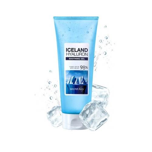 Многофункциональный гель с гиалуроновой кислотой Secret Key Iceland Hyaluron Soothing Gel secret key snail 97 soothing gel