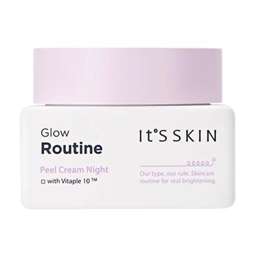 Ночной крем для выравнивания тона лица с витаминами It's Skin Glow Routine Peel Cream Night