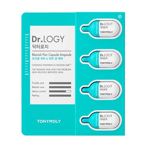 Набор капсульных эссенций для проблемной кожи лица Tony Moly Dr. Logy Blemish Pair Capsule Ampoule