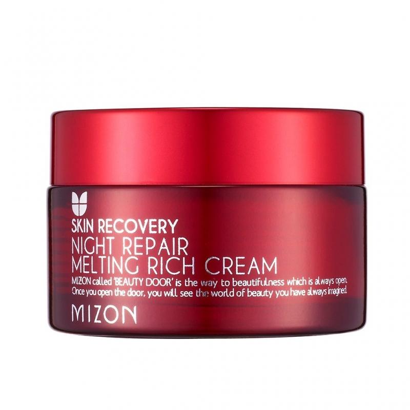 Ночной тающий крем Mizon Night Repair Melting Rich Cream