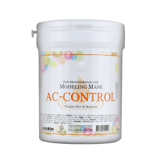 Альгинатная маска против акне Anskin AC Control Modeling Mask (Container) a sort of life