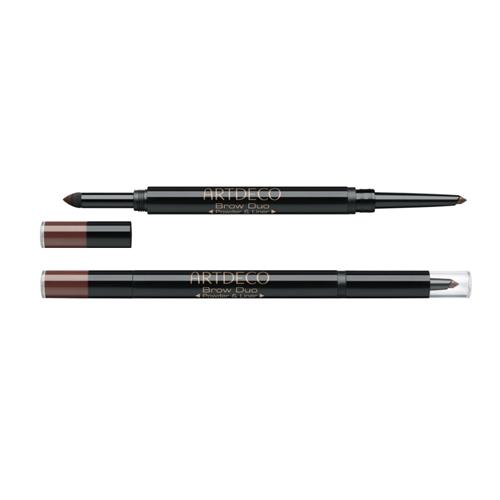 Пудра и карандаш для бровей Artdeco Brow Duo Powder and Liner часы nixon time teller deluxe leather navy sunray brow