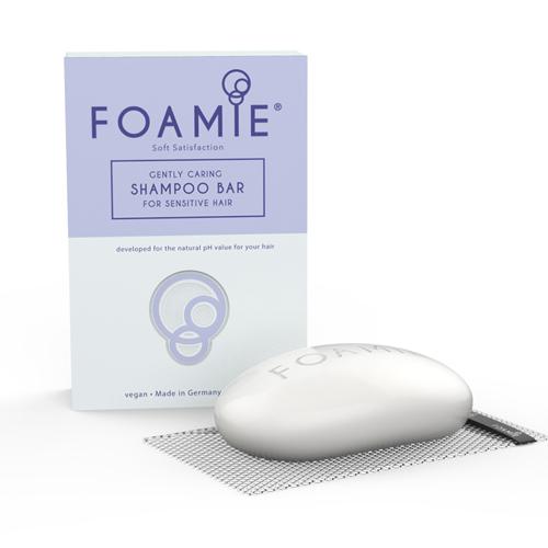 Твердый шампунь для тонких волос в сетчатом чехле Foamie Foamie Soft Satisfaction цена