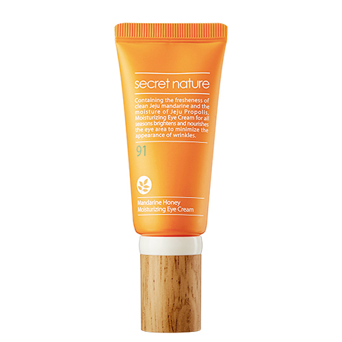 Увлажняющий крем для кожи вокруг глаз Secret Nature Mandarine Honey Moisturizing Eye Cream pearl and silk peptide cream 30g moisturizing nourishing anti aging face cream
