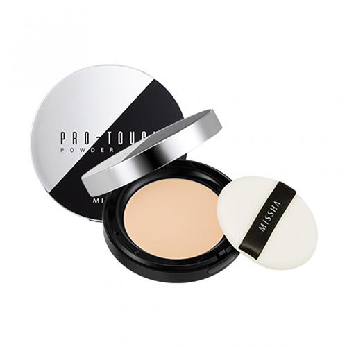 Компактная пудра для лица Missha Pro-Touch Powder Pact тони моли пудра для лица spoiler oil paper pact тон 02 5г