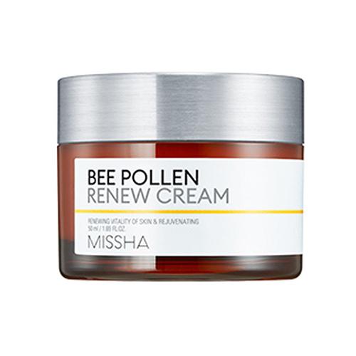Крем для лица на основе пчелиной пыльцы Missha Bee Pollen Renew Cream e blue ems618 wired gaming mouse white