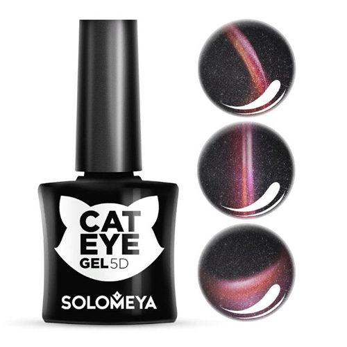 Гель-лак Кошачий глаз Британка Solomeya Vip Cat Eye 1 British Shorthaired