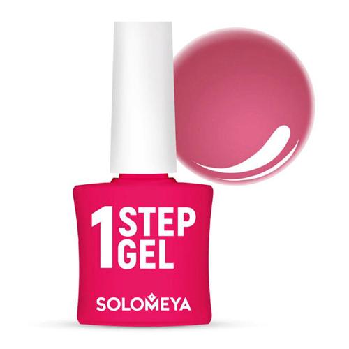 Однофазный гель-лак Кармин Solomeya One Step Gel 10 Carmine