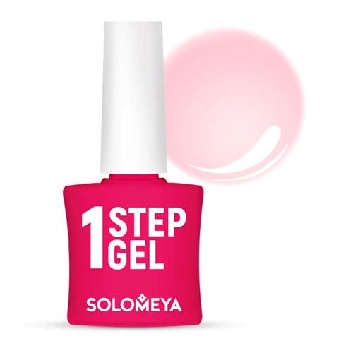 Однофазный гель-лак Камелия Solomeya One Step Gel 4 Camellia