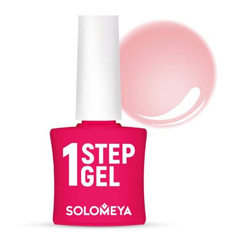 Однофазный гель-лак Бегония Solomeya One Step Gel 5 Begonia solomeya гель лак solomeya cat eye gel wild grey sce031 дикий серый 8 5 мл