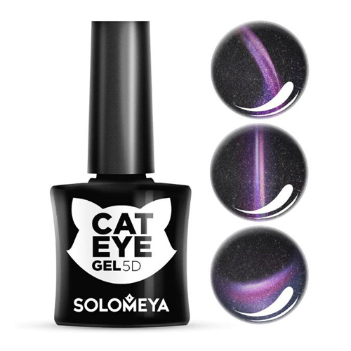 Гель-лак Кошачий глаз Перс Solomeya Vip Cat Eye 4 Persian funny round lens color block cat eye sunglasses