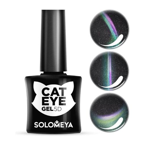Гель-лак Кошачий глаз Сфинкс Solomeya Vip Cat Eye 3 Sphynx funny round lens color block cat eye sunglasses