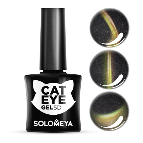 Гель-лак Кошачий глаз Мейн-Кун Solomeya Vip Cat Eye 2 Maine Coon funny round lens color block cat eye sunglasses