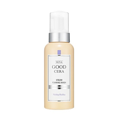 пенка для умывания с керамидами Holika Holika Skin and Good Cera Steam Foaming Wash