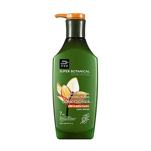 Восстанавливающий и расслабляющий кондиционер для волос Mise En Scene Super Botanical Repair and Relaxing Conditioner botanical embroidered mesh sleeve longline pullover