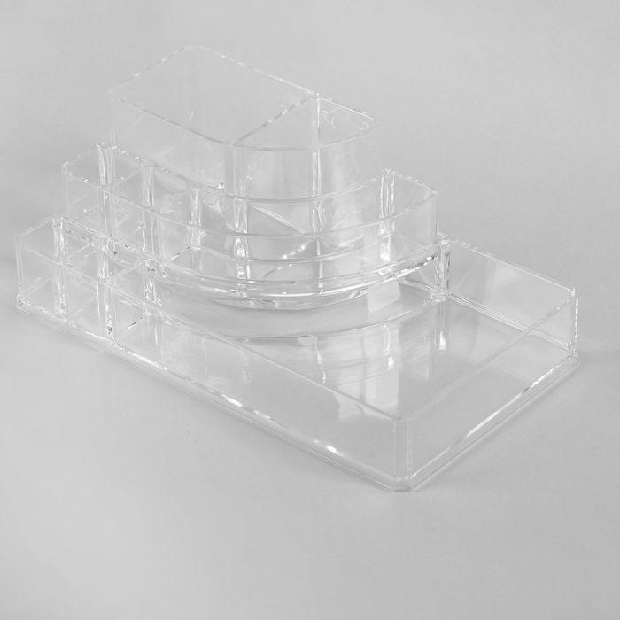 Косметический органайзер на 8 секций HolySkin Органайзер 8 секций 22×12×8 цена