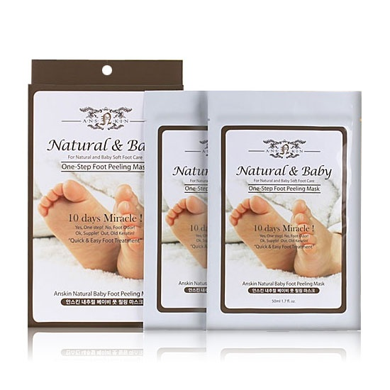 Anskin Natural Baby Foot Peeling Mask