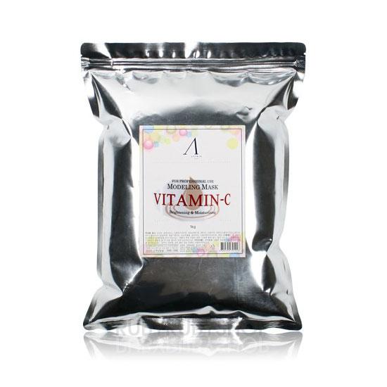 Альгинатная маска витаминная Anskin Vitamin-C Modeling Mask Refill (1kg)