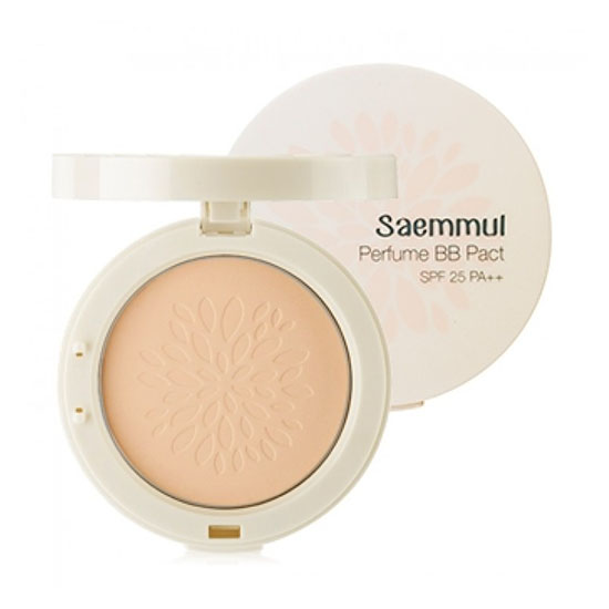 Ароматизированная BB пудра The Saem Saemmul Perfume BB Pact the saem saemmul perfect pore bb natural beige бб крем тон 02 15 мл