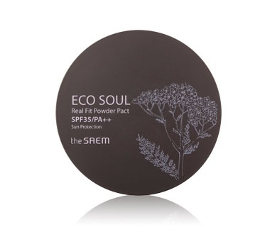 Компактная пудра The Saem Eco Soul Real Fit Powder Pact the saem eco