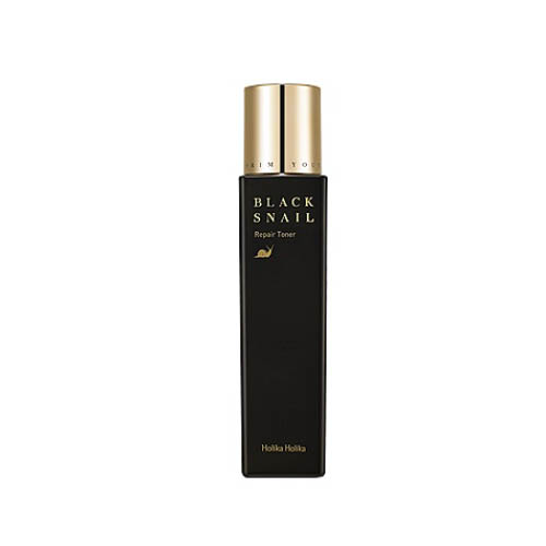 Тонер с улиткой и жемчугом Holika Holika Prime Youth Black Snail Repair Toner тканевая маска holika holika prime youth gold caviar gold foil mask объем 25 мл