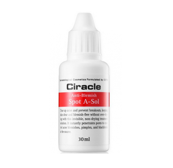 Точечное средство от акне Ciracle Anti-Blemish Spot A-Sol крем ciracle ciracle red spot cream объем 30 мл