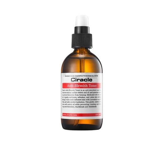 Тонер для проблемной кожи Ciracle Anti-Blemish Toner clinique anti blemish solutions post blemish formula купить