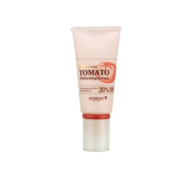 Томатный крем против пигментации SKINFOOD Premium Tomato Whitening Cream крем skinfood premium tomato whitening cream объем 50 г 50 мл