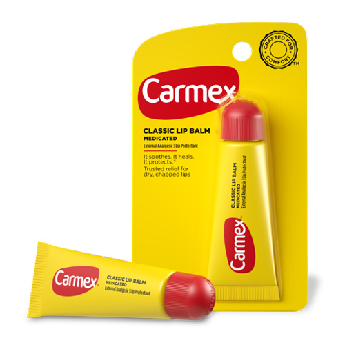 Бальзам для губ Carmex Carmex Classic Lip Balm Tube 10g free shipping 12 1mm 10 20 5opcs lot engraving carving high grade lipstick tube black pink empty lip balm container